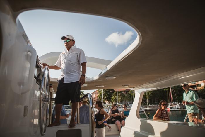 Catamaran captain mexico