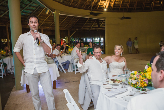 Mexico Destination Wedding Reception