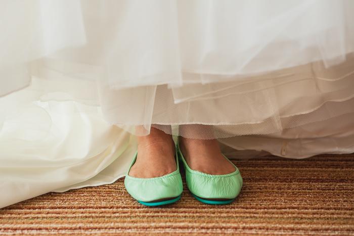 mint green wedding shoes flats