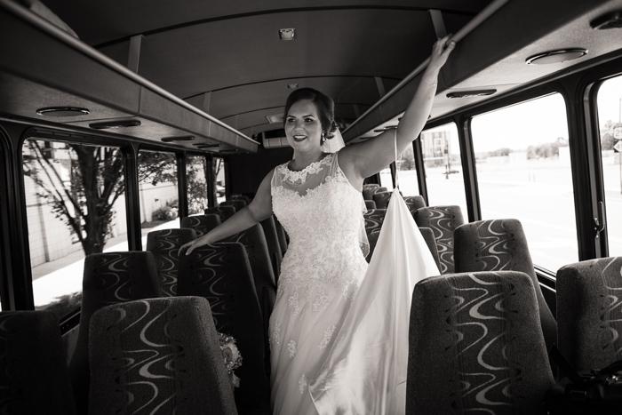 Peak Limo Bride charlotte wedding