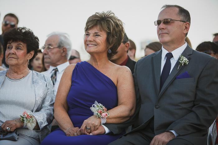 mother wedding dress blue