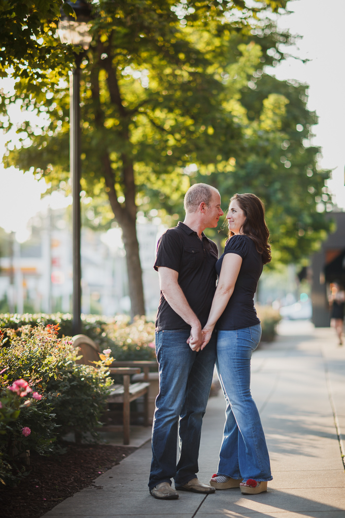 engagement photography in dilworth