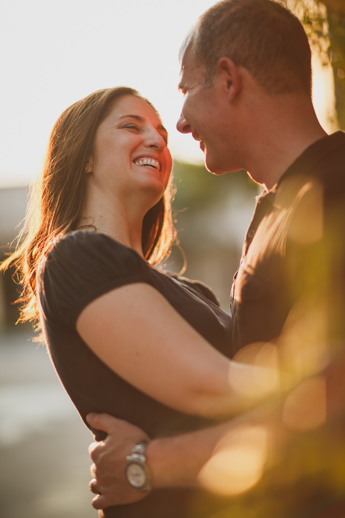 engagement photography nice light, magic hour engagement, golden light photography